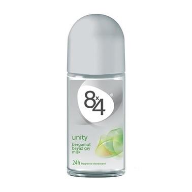 8x4  Unity Bayan Parfüm Rollon Deodorant 50ml Renksiz